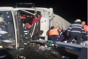 (UPDATE) Accident mortal pe autostrada A1 in apropiere de Traian Vuia